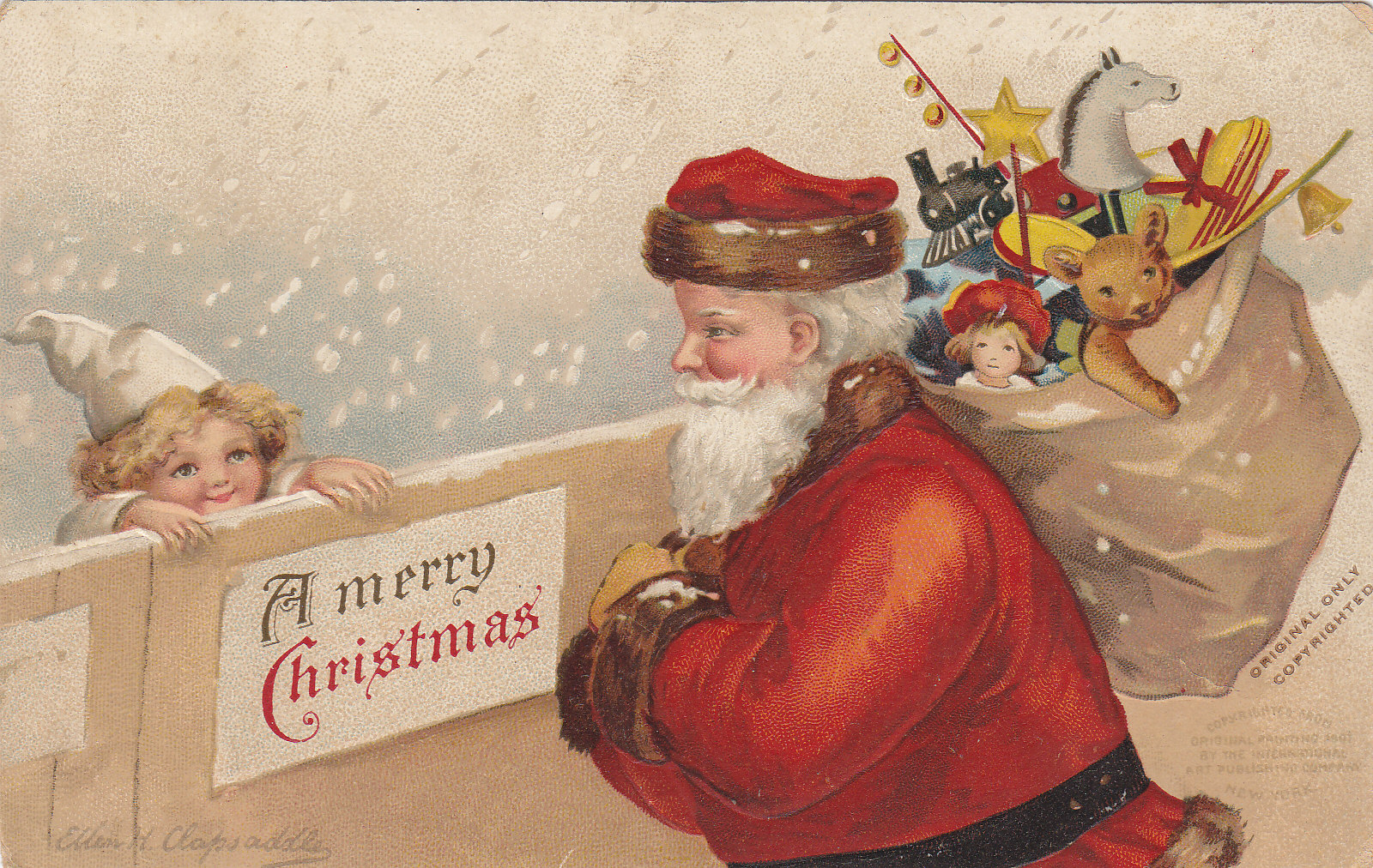 Merry Christmas! | Moore\'s Postcard Museum