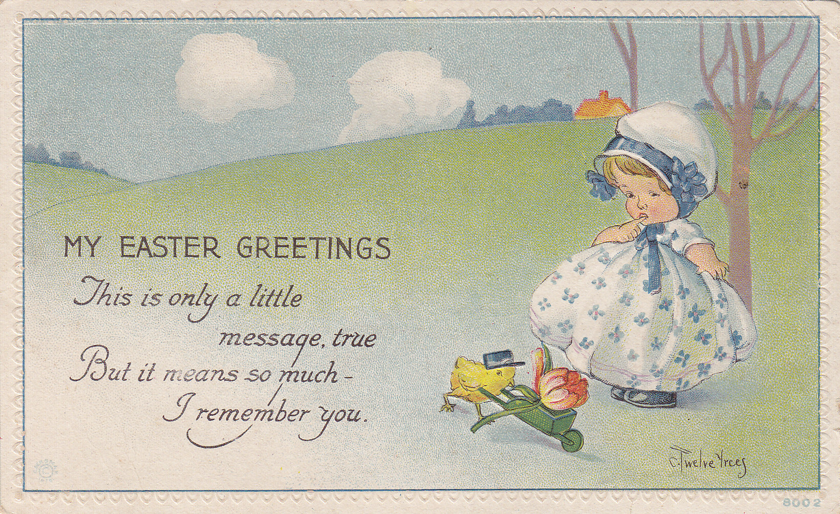 Twelvetrees Easter Series – Easter Messages for Cards