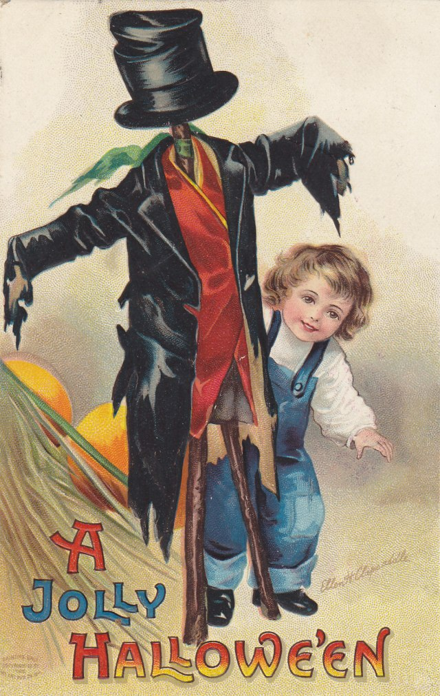 Happy Halloween! | Moore's Postcard Museum
