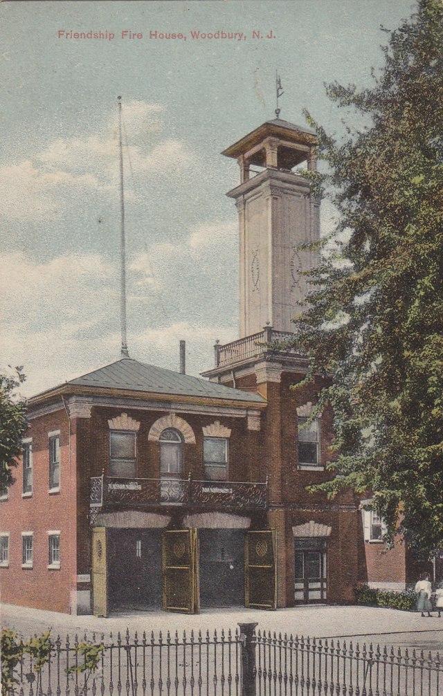 Friendship Firehouse, Woodbury, NJ | Moore's Postcard Museum