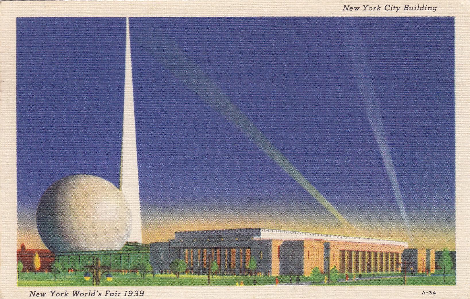 1939 New York World's Fair- New York City Building | Moore ...