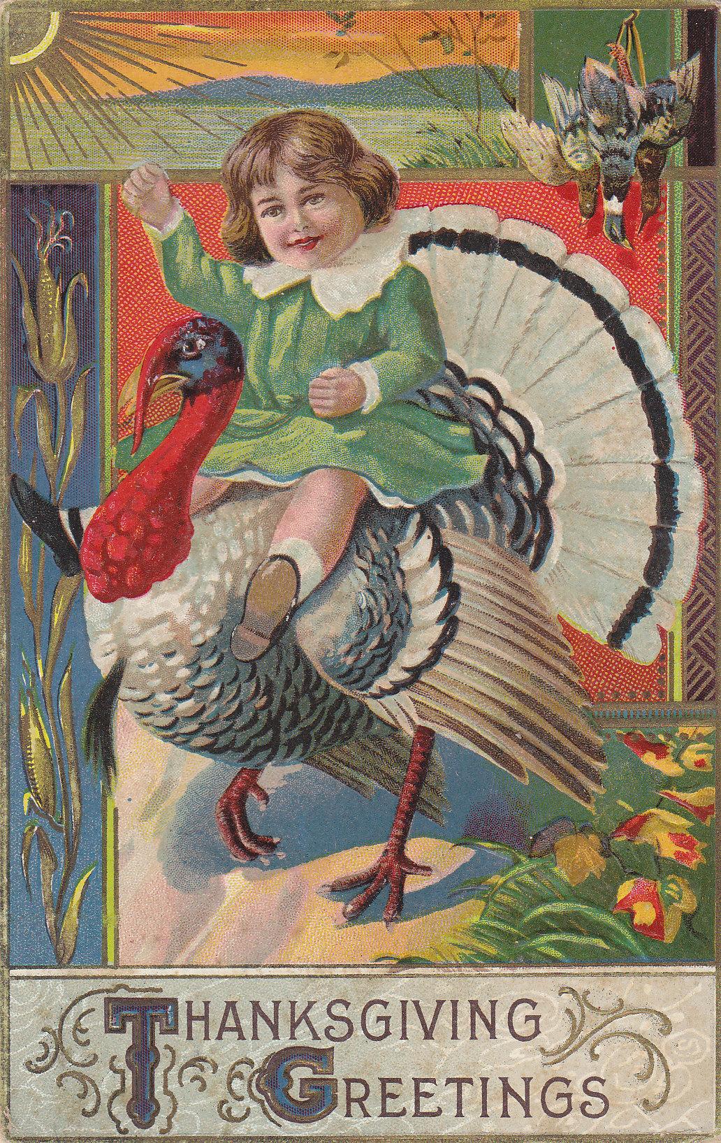 Happy Thanksgiving! | Moore's Postcard Museum