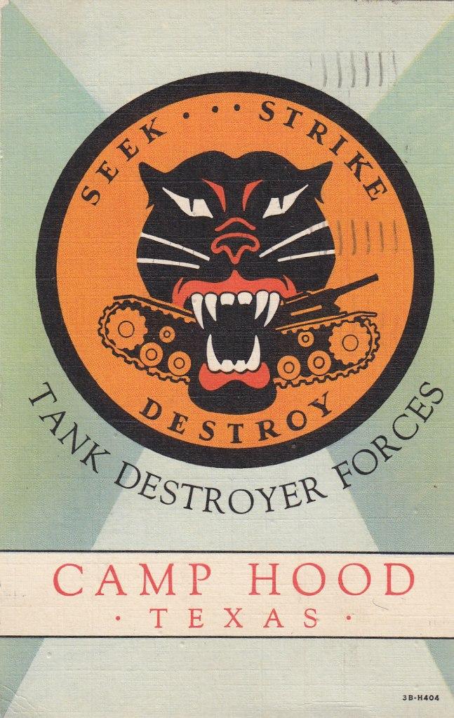 Camp Hood, Texas | Moore's Postcard Museum