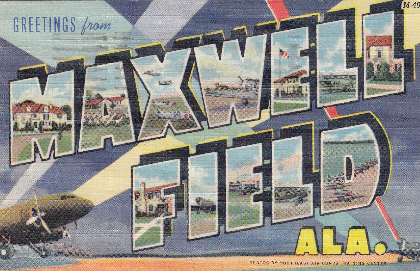 Maxwell Field | Moore's Postcard Museum