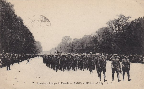 American Troops in Parade